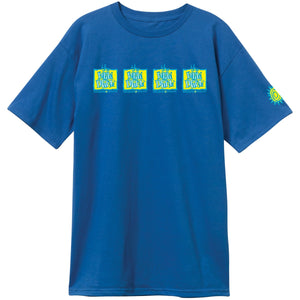 New Deal Original Napkin 4-Bar S/S Tee Royal