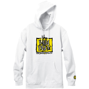 New Deal Original Napkin Logo P/O Hood White