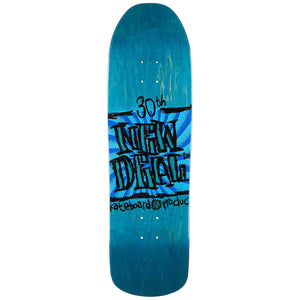 New Deal Skateboards ND WTF Holiday 2019 Napkin Founder Douglas S4 Rocket Deck Multi 9.125""