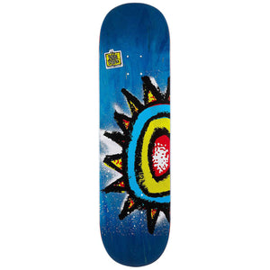 New Deal WTF Sun 90's Shallow Popsicle Deck Multi 8.75""