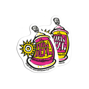 New Deal Spray Can Stickers 10 PK