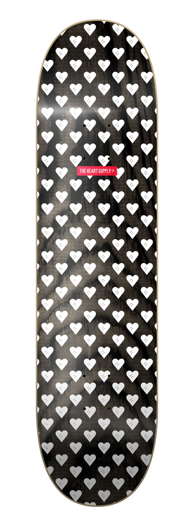 The Heart Supply Luxury Sweethearts Deck Black/White 8.25""