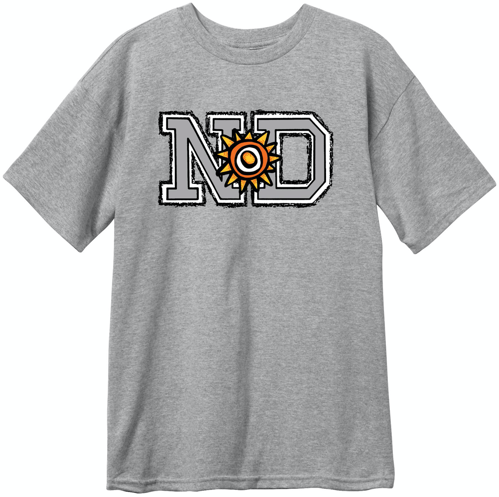 New Deal N*D Price Point S/S Tee Athletic Heather