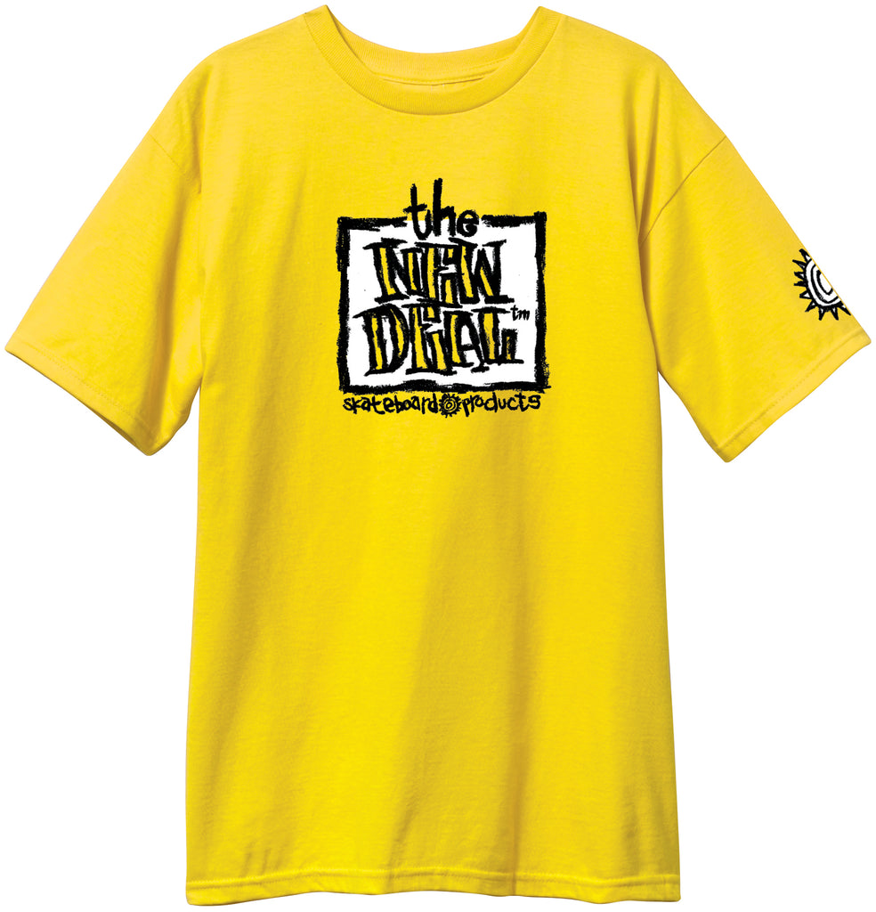 New Deal Original Napkin  S/S Tee Yellow