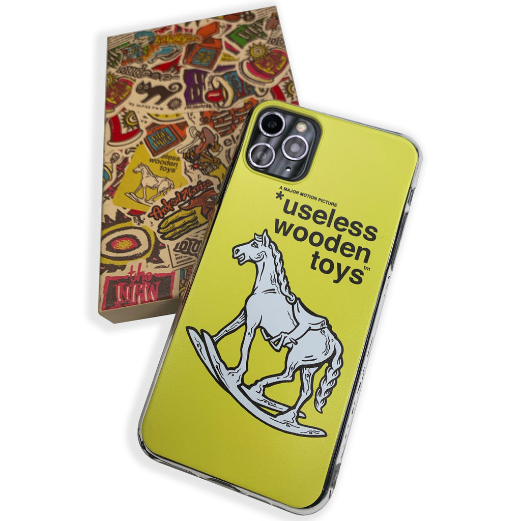 iPhone XR Rocking Horse Phone Case