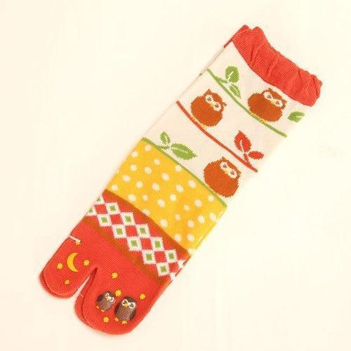 3 Pairs Of Tabi Socks Cotton - 3 Pairs