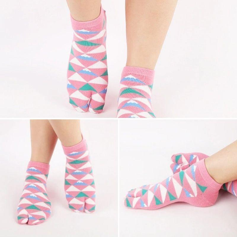 5 Pairs Of Traditional Tabi Socks - 5 Pairs