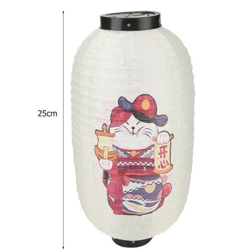 Japanese Lantern Decor - 25 cm