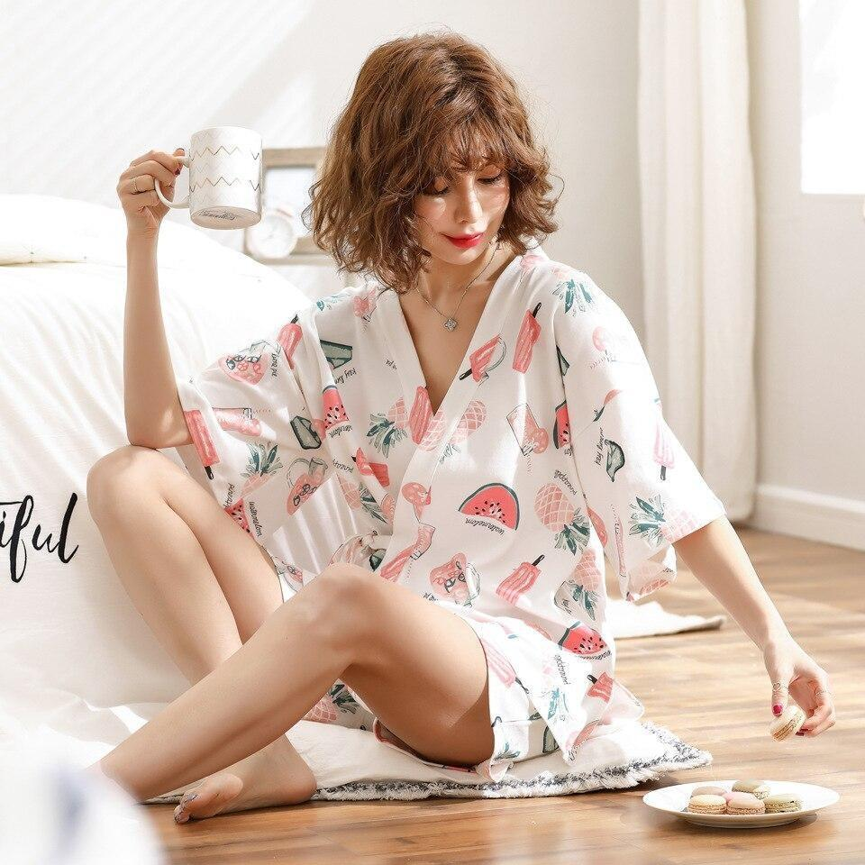 Japanese Pajamas Womens - M