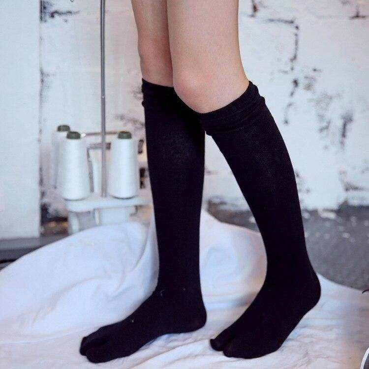 Long Tabi Socks - White