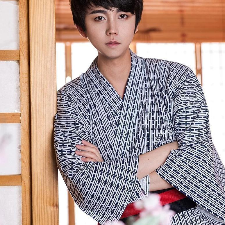 Men's Kimono Fashion with Ikkan pattern - One Size