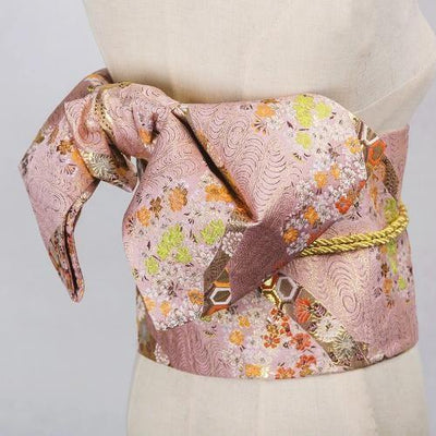 Obi Belt Pinku Kawa - One Size