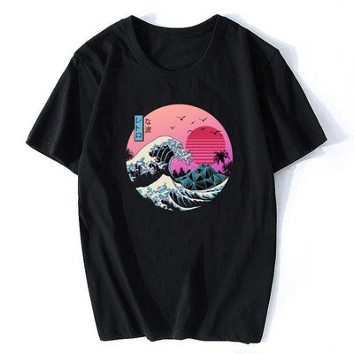 The Great Retro Wave Japanese Tee - XS