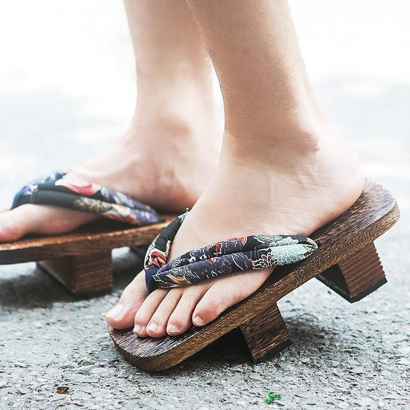 Traditional Geta Sandals - Kiku