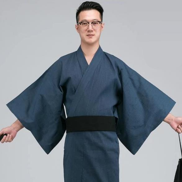 Traditional Men's Yukata - Sanshuu - M