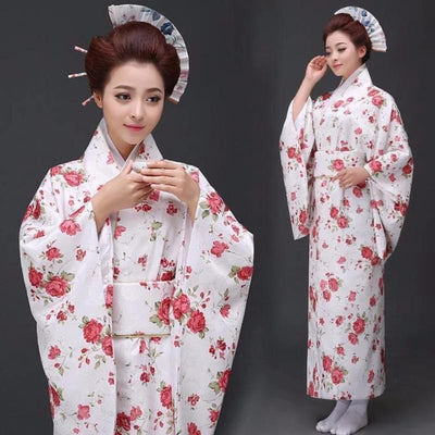 Women's Traditional Kimono Dress - Roozu - One Size
