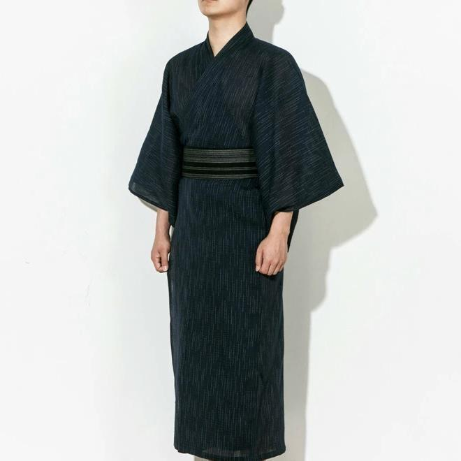 Yukata Men - Black Color - M