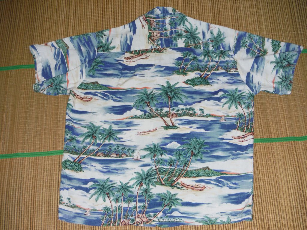 cb98836ad Men's Aloha shirt by Hawaiian Reserve Collection. 100% Rayon, Size: Mens  Small