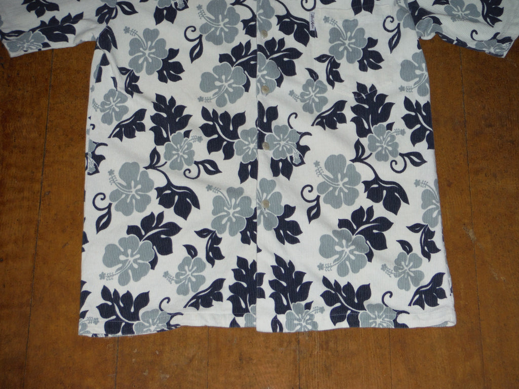 Mens Aloha shirt by Local Motion. Woven Cotton, Size: Mens Extra Large