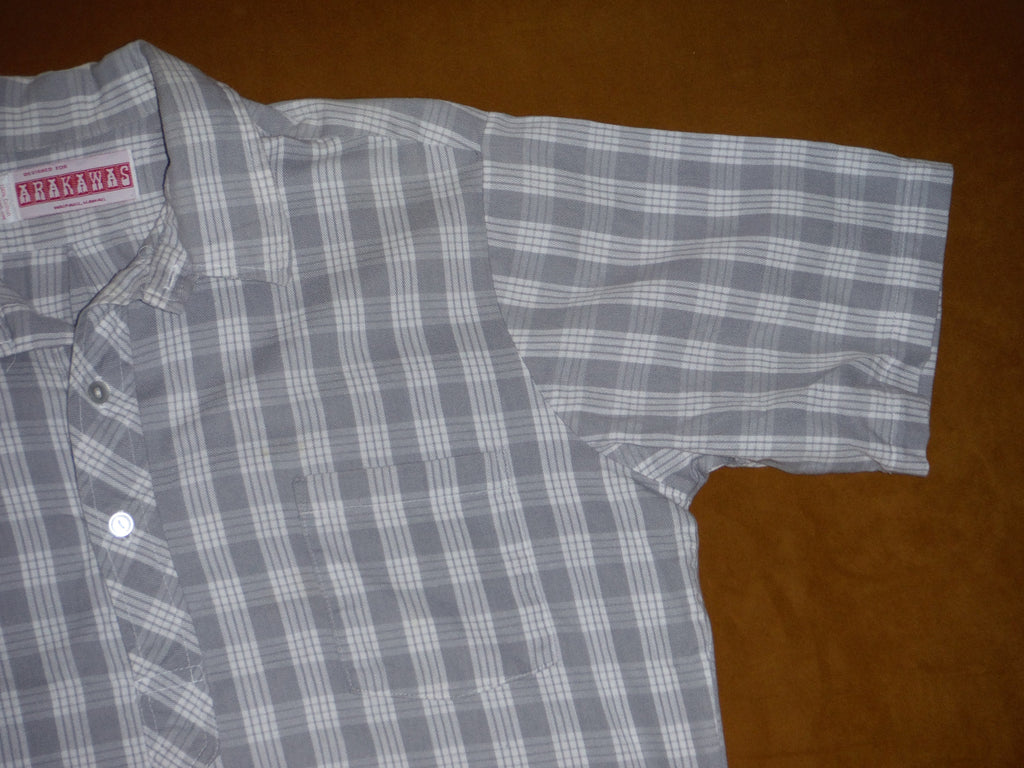 f337e584b Mens Palaka Shirt by Arakawas of Waipahu. 100% Cotton, Size: Mens Large