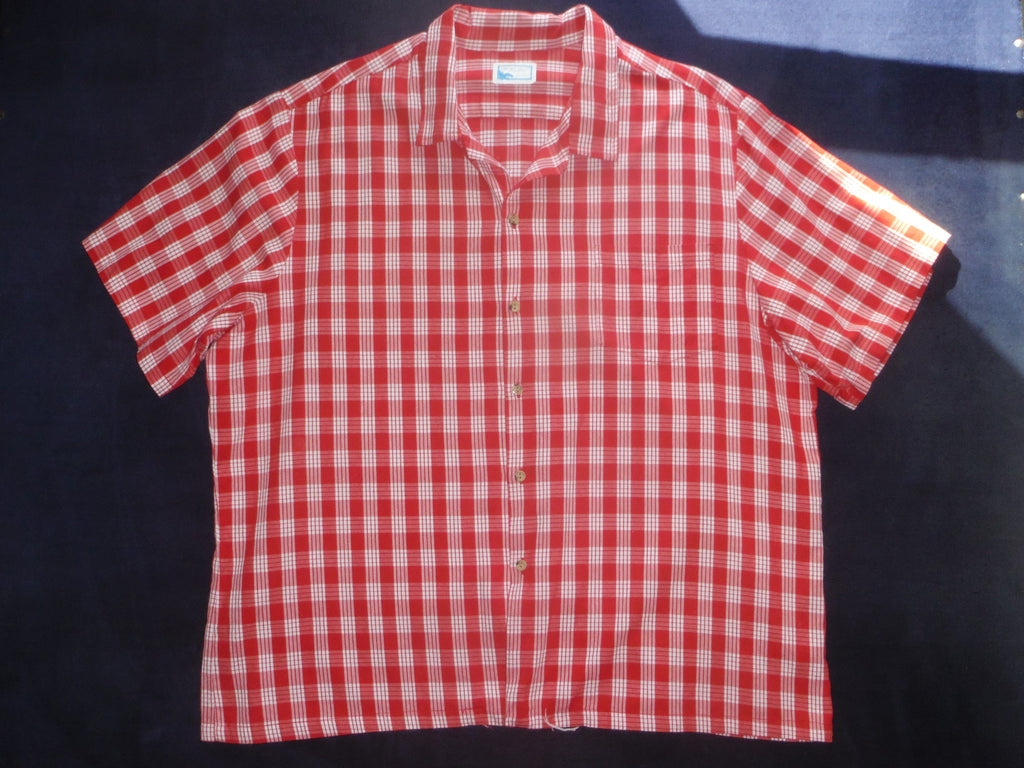 fa769d2e8 Vintage Red Palaka by Pride of Hawaii. Cotton, Mens size XL – HiloBay  Vintage