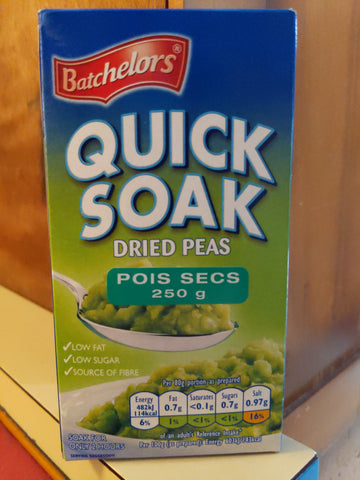 Batchelors quick soak peas
