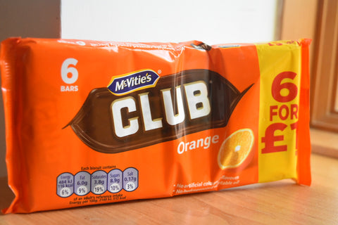 McVitie's Club Orange Biscuit – 6 Pack