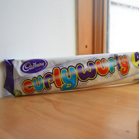 Cadbury Curly-Wurly Chocolate Bars - 5-Pack