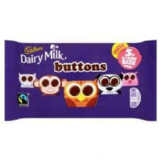 Cadbury's Dairy Milk Buttons 5 Pack