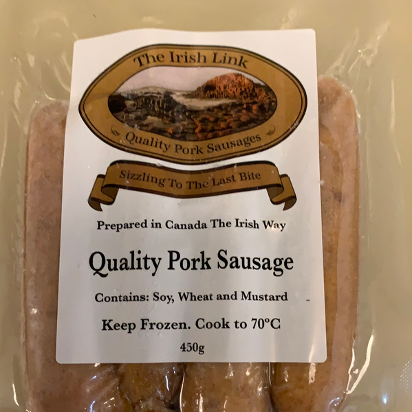 The Irish Link Sausages