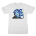 Starry Night Venus T-Shirt - Starry Night Van Gogh & Venus Botticelli