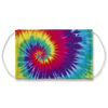 Rainbow Sunburst Tie Dye Pattern Face Mask