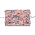 Mad Marble Pink Navy Glitter Face Mask