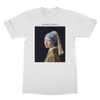 Girl with a Pearl Earring (1665) by Johannes Vermeer T-Shirt