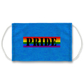 Pride Bumper Turquoise Face Mask