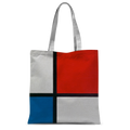Composition II in Red, Blue, and Yellow (1930) by Piet Mondrian Tote Bag