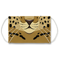Animal Friends Leopard Face Mask