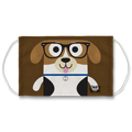 Beagle Bow Wow Face Mask