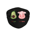 For Eat For Love Face Mask