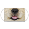 Golden Retriever Mouth Face Mask