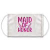 Maid Of Honor (White) - Face Mask
