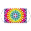 Rainbow Bullseye Tie Dye Pattern Face Mask