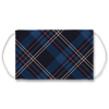 Blue Plaid Pattern Face Mask