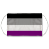 Asexual Flag Face Mask