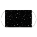 Across the Stars B&W Face Mask