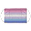 Bigender Pride Flag Face Mask