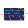 Chanukah Dreidel Pattern Face Mask