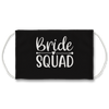 Bride Squad (Charcoal) - Face Mask
