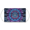 Purple Kaleidoscope Tie Dye Pattern Face Mask
