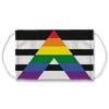 Straight Ally Flag-01 Face Mask